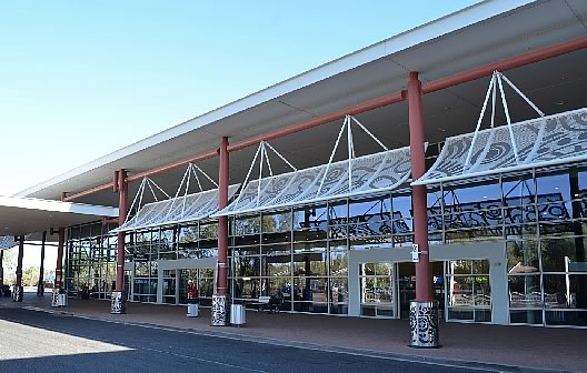 Alice Springs AIrport Terminal in the Northern Territory of Australia