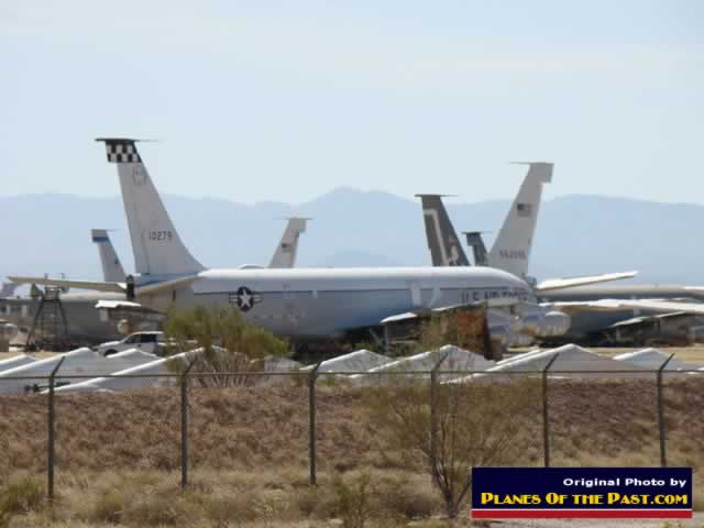 KC-135 aircraft at Davis-Monthan Air Force Base AMARG in October, 2012