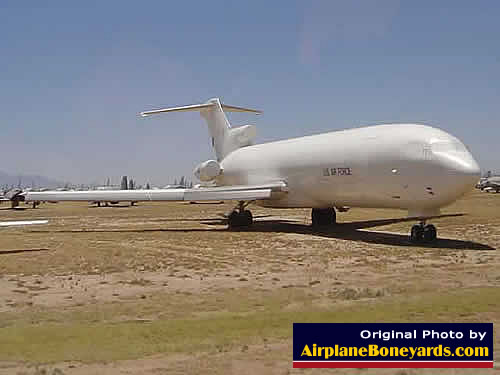 U.S. Air Force C-22A Transport, S/N 84-0193 ... variant of the Boeing 727 ... parked on Celebrity Row at AMARG