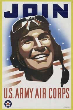 U.S. Army Air Corps recruiting poster