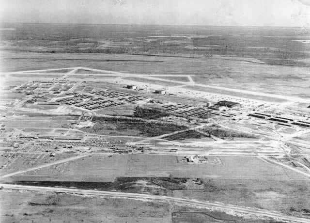 Early view of the Walnut Ridge Air Field in Arkansas