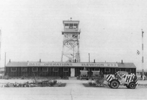 Base Operations at the Walnut Ridge Air Field in Arkansas during World War II