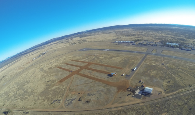 Aerial view of Alice Springs Airport in Australia (photo courtesy of APAS)
